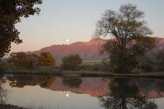 Montanhas de Sandia Fotos de Stock Royalty Free