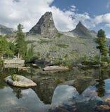Montanhas de Sayan Foto de Stock Royalty Free