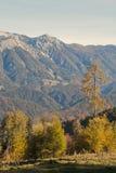 Montanhas de Sengsengebirge Foto de Stock