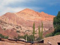 Montanhas de sete cores Fotografia de Stock Royalty Free