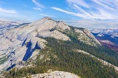 Montanhas de Sierra Nevada em Califórnia, EUA Imagem de Stock