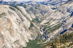Montanhas de Sierra Nevada em Califórnia, EUA Fotos de Stock Royalty Free