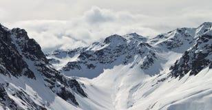 Montanhas de Silvretta em Áustria Fotografia de Stock