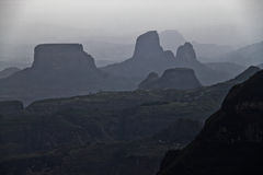 Montanhas de Simien Imagens de Stock Royalty Free