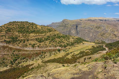 Montanhas de Simien Imagens de Stock