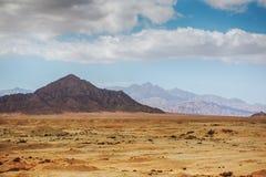Montanhas de Sinai Fotografia de Stock Royalty Free