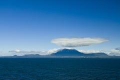 Montanhas de Sitka Alaska Fotografia de Stock