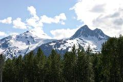 Montanhas de Skagway Fotos de Stock