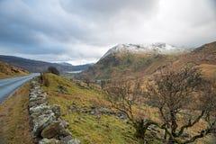 Montanhas de Snowdonia Foto de Stock