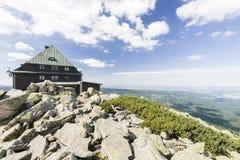 Montanhas de Sudety fotografia de stock royalty free