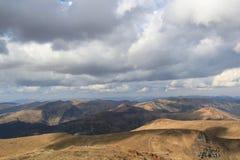 Montanhas de Svydovets em Ucrânia Foto de Stock Royalty Free