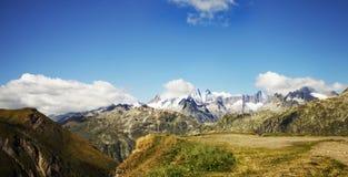 Montanhas de Switzerland Fotografia de Stock