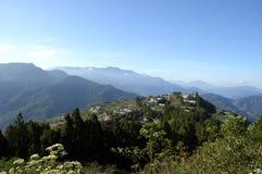 Montanhas de Taichung fotografia de stock royalty free