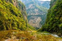 Montanhas de Taihangshan Fotos de Stock