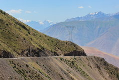 Montanhas de Tajiquistão Imagem de Stock