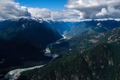 Montanhas de Tantalus Fotografia de Stock