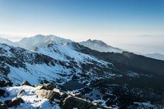 Montanhas de Tatra Foto de Stock