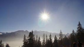 Montanhas de Tatra Imagens de Stock