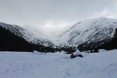 Montanhas de Tatra no inverno Foto de Stock