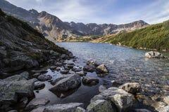 Montanhas de Tatra no inverno, paisagem Fotos de Stock Royalty Free