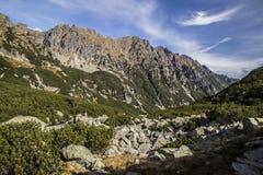 Montanhas de Tatra no inverno, paisagem Foto de Stock