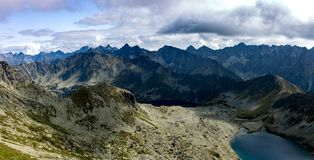 Montanhas de Tatra no Polônia em Europa imagem de stock