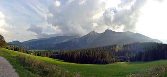 Montanhas de Tatry Imagens de Stock Royalty Free