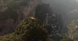 Montanhas de Tianmen em Zhangjiajie filme