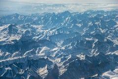 Montanhas de Tibet Imagens de Stock Royalty Free
