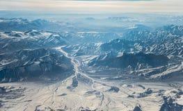 Montanhas de Tibet Foto de Stock