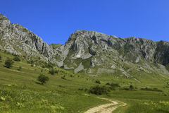 Montanhas de Trascau, a Transilvânia, Romania Fotos de Stock
