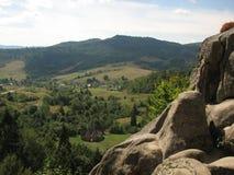 Montanhas de Ucrânia Imagens de Stock Royalty Free