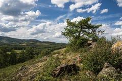 Montanhas de Ural no verão Foto de Stock