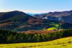 Montanhas de Urkiola Imagens de Stock