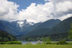 Montanhas de Vancôver do norte Imagens de Stock