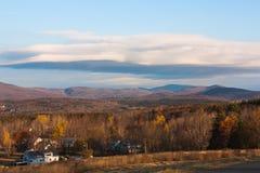 Montanhas de Vermont Imagem de Stock