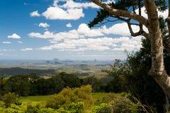 Montanhas de vidro da casa Fotografia de Stock Royalty Free
