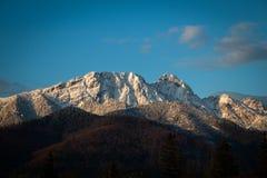 Montanhas de Vysoky Tatra em Zakopane imagem de stock