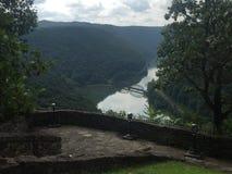 Montanhas de West Virginia Fotos de Stock Royalty Free