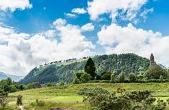 Montanhas de Wicklow acima de Glendalough Imagens de Stock Royalty Free