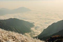 Montanhas de Wugong Foto de Stock Royalty Free