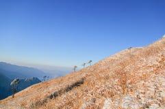 Montanhas de Wugong Imagens de Stock Royalty Free