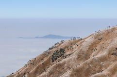 Montanhas de Wugong Fotos de Stock Royalty Free