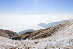 Montanhas de Wugong Imagens de Stock