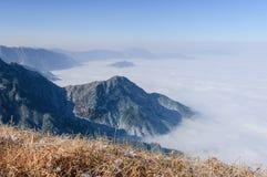 Montanhas de Wugong Imagem de Stock Royalty Free