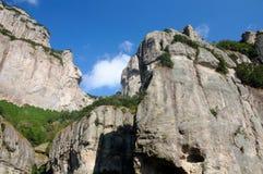 Montanhas de Yandangshan Imagem de Stock