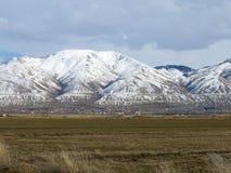 Montanhas dianteiras de Wasatch Imagens de Stock Royalty Free