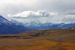 Montanhas do Alasca Foto de Stock