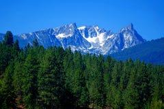 Montanhas do Bitterroot perto de Darby, Montana fotografia de stock