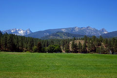 Montanhas do Bitterroot perto de Darby, Montana foto de stock